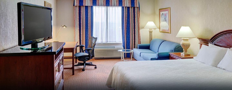 Hôtel Hilton Garden Inn Kitchener Cambridge, Canada - Chambre avec très grand lit
