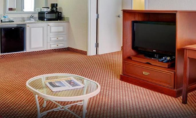 Hôtel Hilton Garden Inn Kitchener Cambridge, Canada - Séjour d'une suite