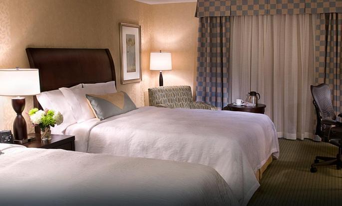 Hôtel Hilton Garden Inn Toronto Downtown, ON, Canada - Chambre Évolution avec deux grands lits