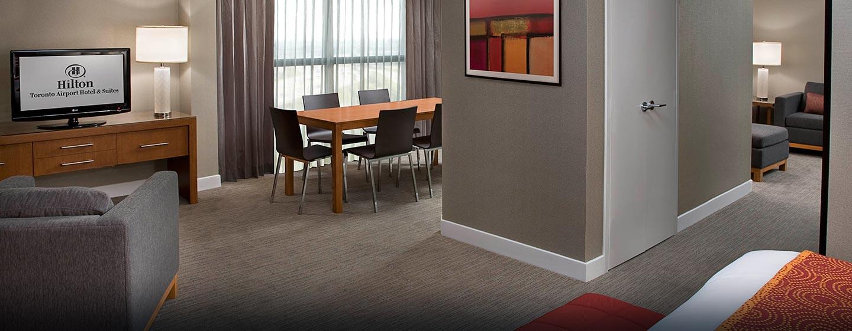 Hôtel Hilton Toronto Airport Hotel & Suites - Vue d'ensemble d'une suite