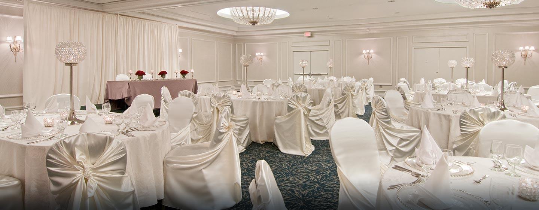 Hôtel Hilton Toronto Airport Hotel & Suites - Banquet dans le salon Vista