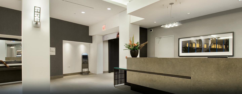 Hôtel Hilton Toronto Airport Hotel & Suites - Aire de réception