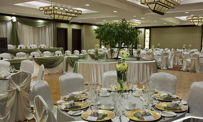 Hôtel Hilton Garden Inn Toronto Airport, ON, Canada - Salle de réception Trillium