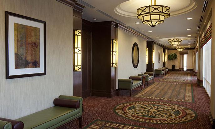 Hôtel Hilton Garden Inn Toronto Airport, ON, Canada - Espace pré-événement de la salle Trillium