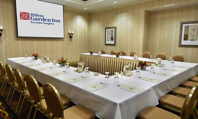 Hôtel Hilton Garden Inn Toronto/Vaughan, ON, Canada - Salle de réunion MacKenzie