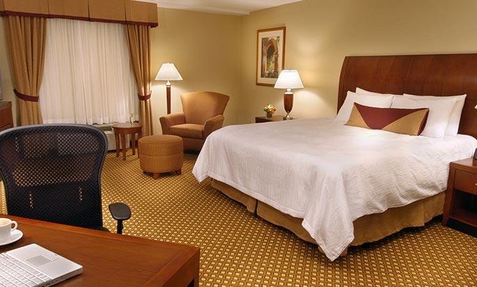 Hôtel Hilton Garden Inn Toronto/Vaughan, ON, Canada - Chambre avec très grand lit