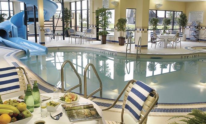 Hôtel Hilton Garden Inn Toronto/Vaughan, ON, Canada - Piscine