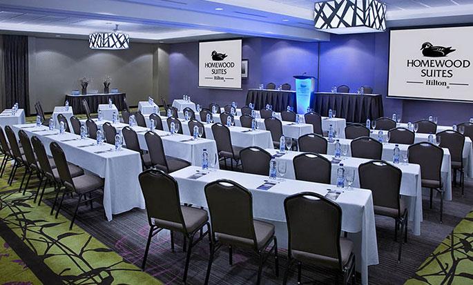 Hôtel Homewood Suites by Hilton Toronto Vaughan - Salle de réunion