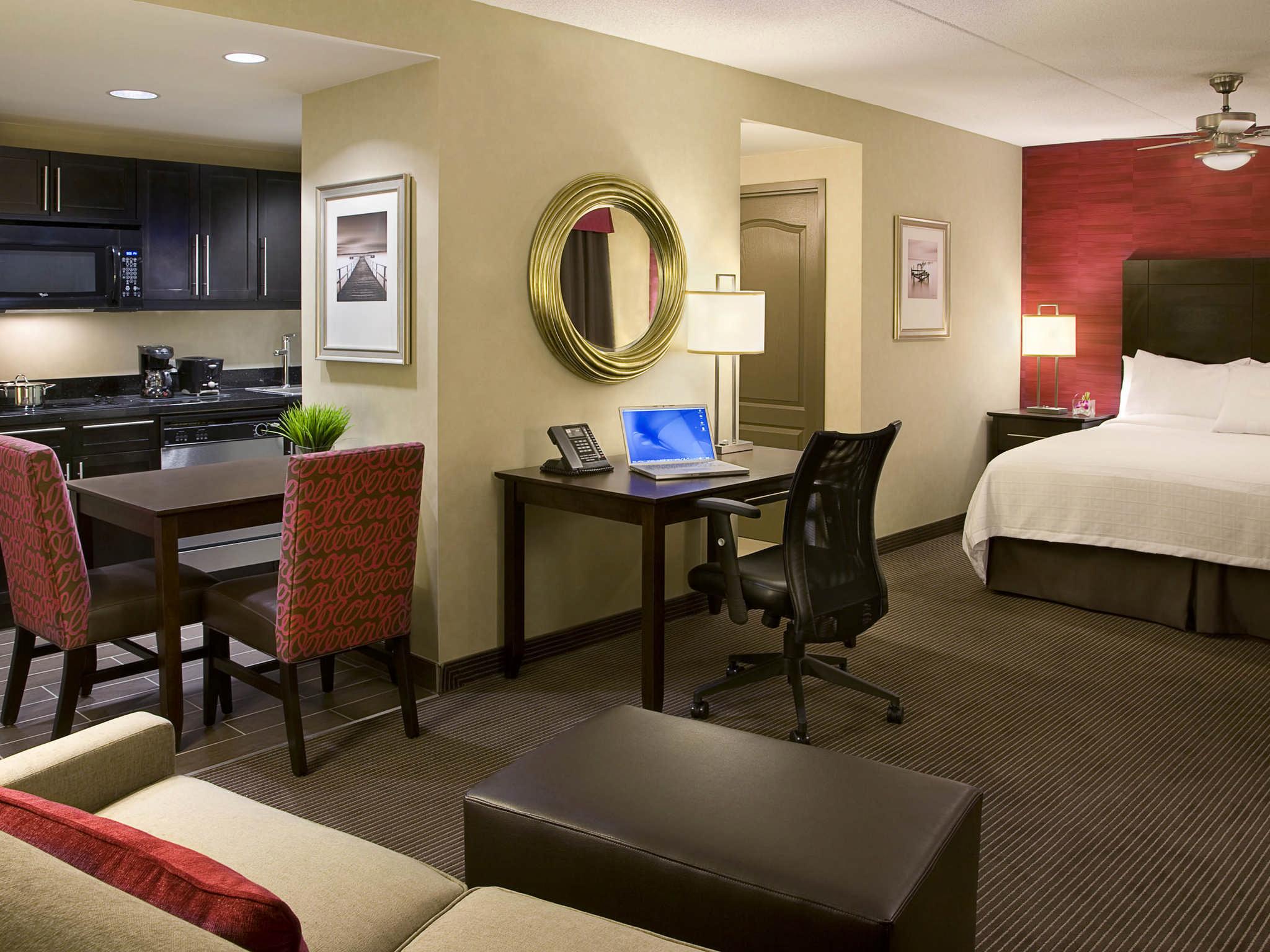 Hôtel Homewood Suites by Hilton Toronto Vaughan - Chambre