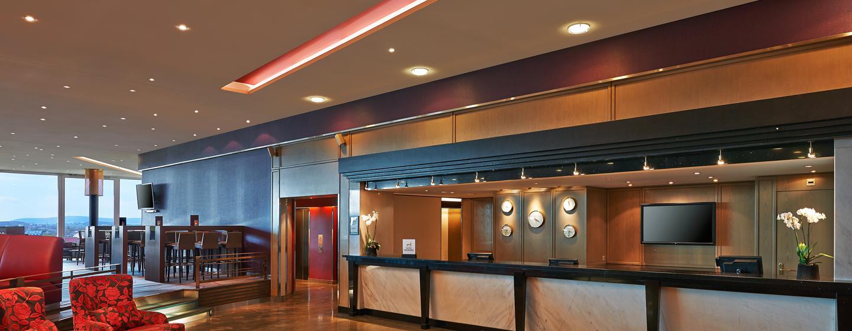 Herzlich willkommen im modernen Hilton Zurich Airport