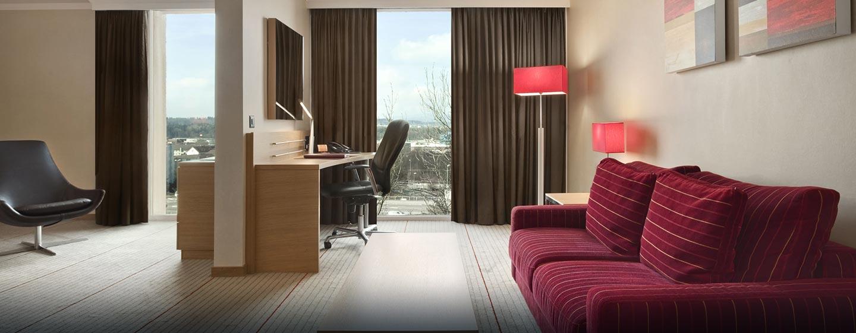 Hôtel Hilton Zurich Airport, Suisse - Suite junior