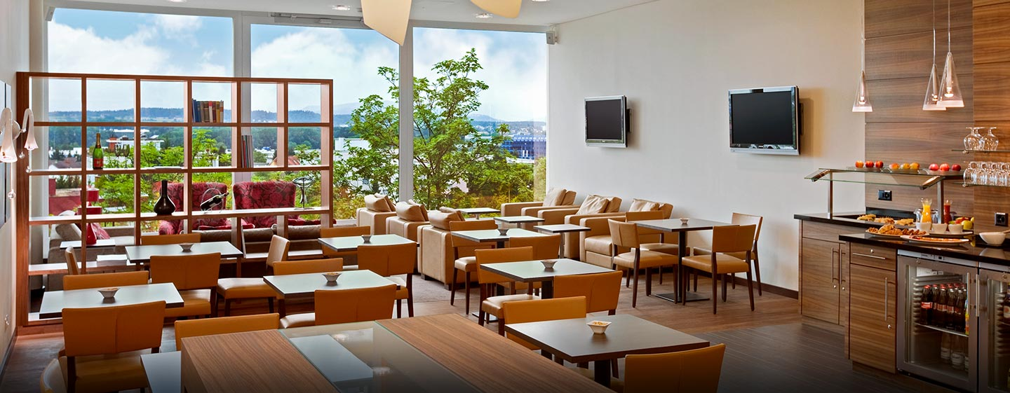 Hilton Zurich Airport Hotel, Schweiz – Executive Lounge