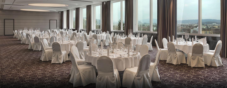 Hilton Zurich Airport Hotel, Schweiz – Veranstaltungsraum Panorama
