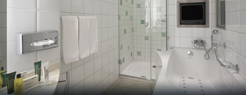 Hôtel Hilton Zurich Airport, Suisse - Salle de bains de la chambre Relaxation