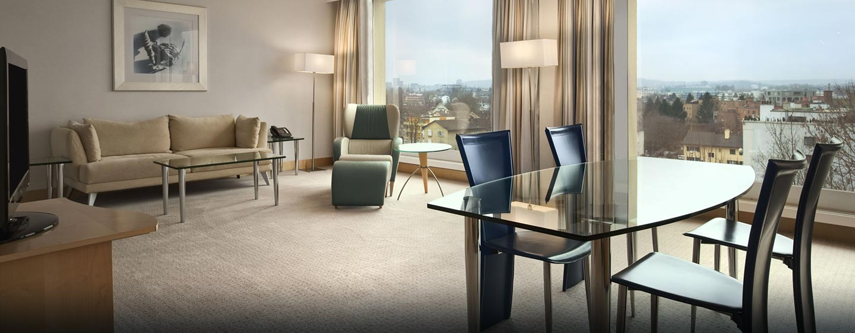 Hilton Zurich Airport Hotel, Schweiz – Relaxation Zimmer