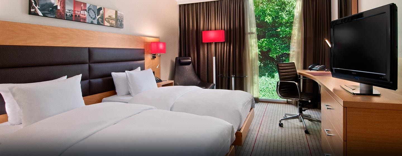 Hôtel Hilton Zurich Airport, Suisse - Chambre exécutive avec lits jumeaux