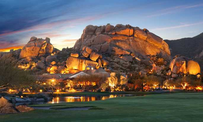 Hotel Boulders Resort & Spa, Curio Collection by Hilton, Estados Unidos - Fachada del hotel