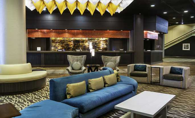 Hotel DoubleTree by Hilton Los Angeles Downtown, EUA - Lobby