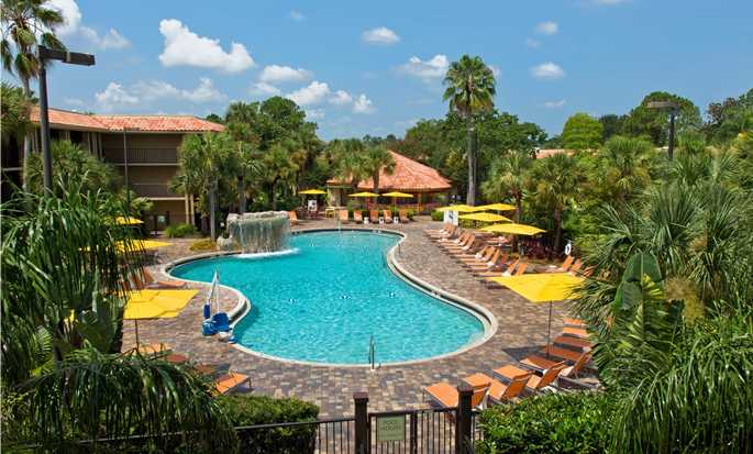 Hotel DoubleTree by Hilton Orlando at SeaWorld, Florida - Piscina