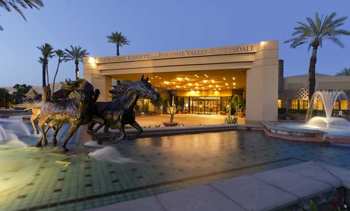 Hotel DoubleTree Resort by Hilton Paradise Valley, Arizona - Fachada del hotel