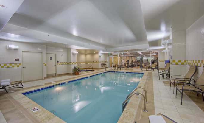 Hotel Hilton Garden Inn Denver Downtown - Piscina