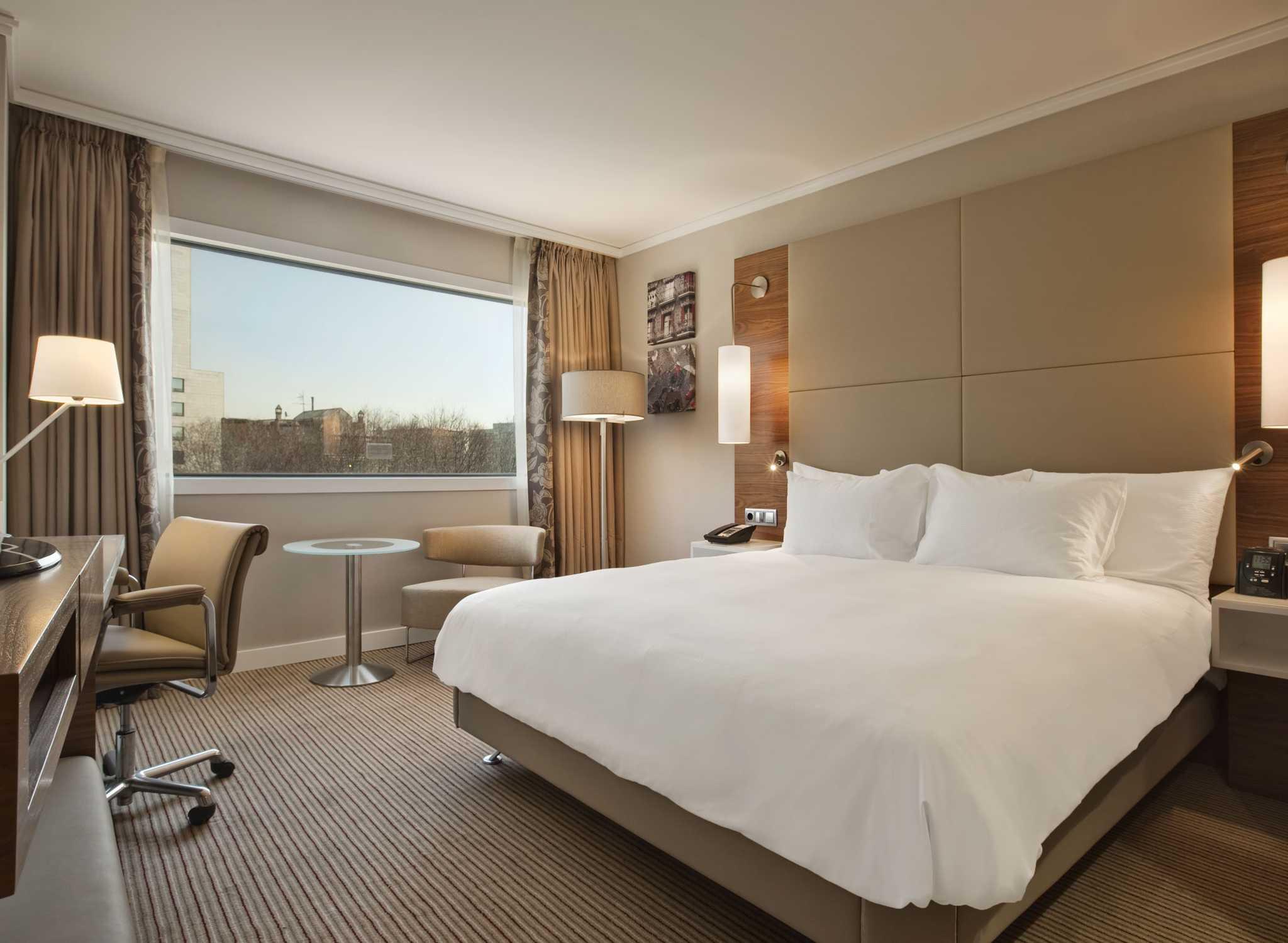 Hoteles en espa a barcelona madrid mallorca hilton Habitacion hotel barcelona
