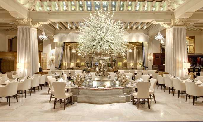 Hotel The Drake, Chicago, Estados Unidos - Palm Court