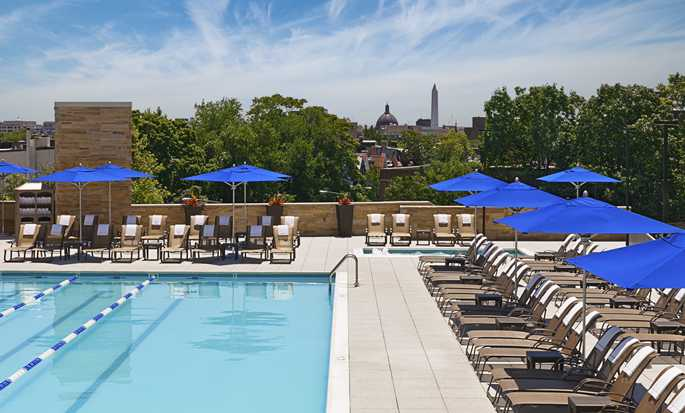 Hilton Washington hotel, U.S. - Outdoor pool