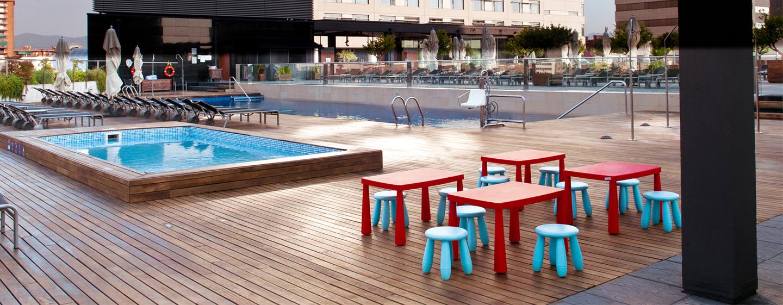 Hilton Diagonal Mar Barcelona, España - Piscina para niños