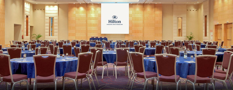 Hilton Diagonal Mar Barcelona, España - Salón de fiestas Cabaret