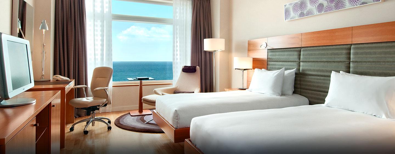 Hilton Diagonal Mar Barcelona, España - Habitación Executive con camas gemelas