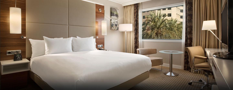 Hotel Hilton Barcelona, España - Habitación ejecutiva con cama King