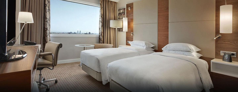 Hotel Hilton Barcelona, España - Habitación Hilton con camas individuales