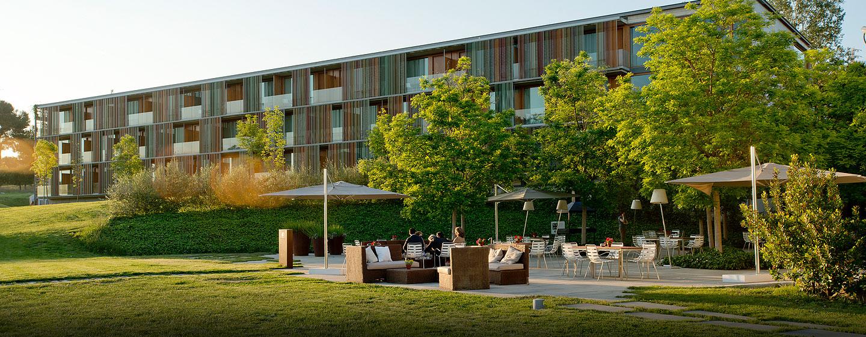 DoubleTree by Hilton Hotel & Conference Center La Mola, Terrassa, España - Terraza
