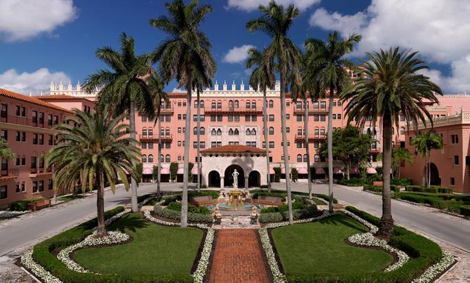 Boca Raton Resort & Club, A Waldorf Astoria Resort, FL - Fachada del Hotel