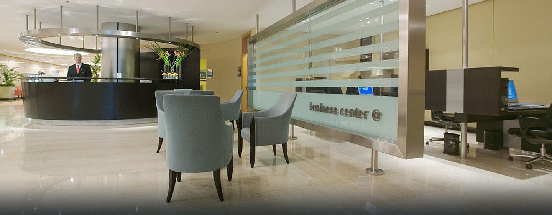 Hilton Buenos Aires, Argentina - Área de recepción del Business Center