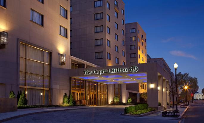 Capital Hilton hotel, Washington DC - Exterior