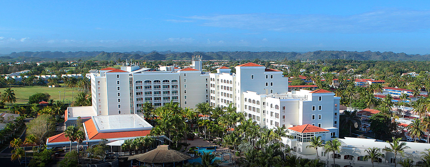 Hotel Embassy Suites Dorado del Mar - Beach & Golf Resort, Puerto Rico - Vista aérea