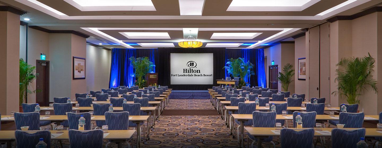 Hotel Hilton Fort Lauderdale Beach Resort, FL - Salón de fiestas