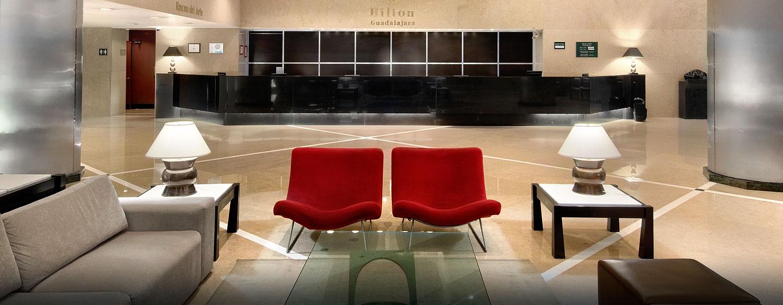 Hilton Guadalajara, Jalisco, México - Recepción
