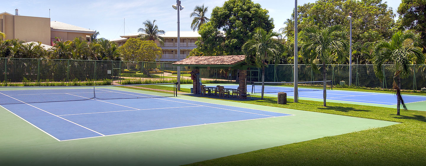 Hotel DoubleTree Resort by Hilton Central Pacific, Puntarenas, Costa Rica - Canchas de tenis