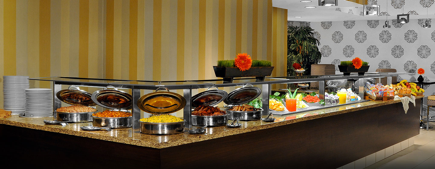 Hotel DoubleTree Suites by Hilton New York City - Times Square - Nueva York, NY - Restaurante Gingers