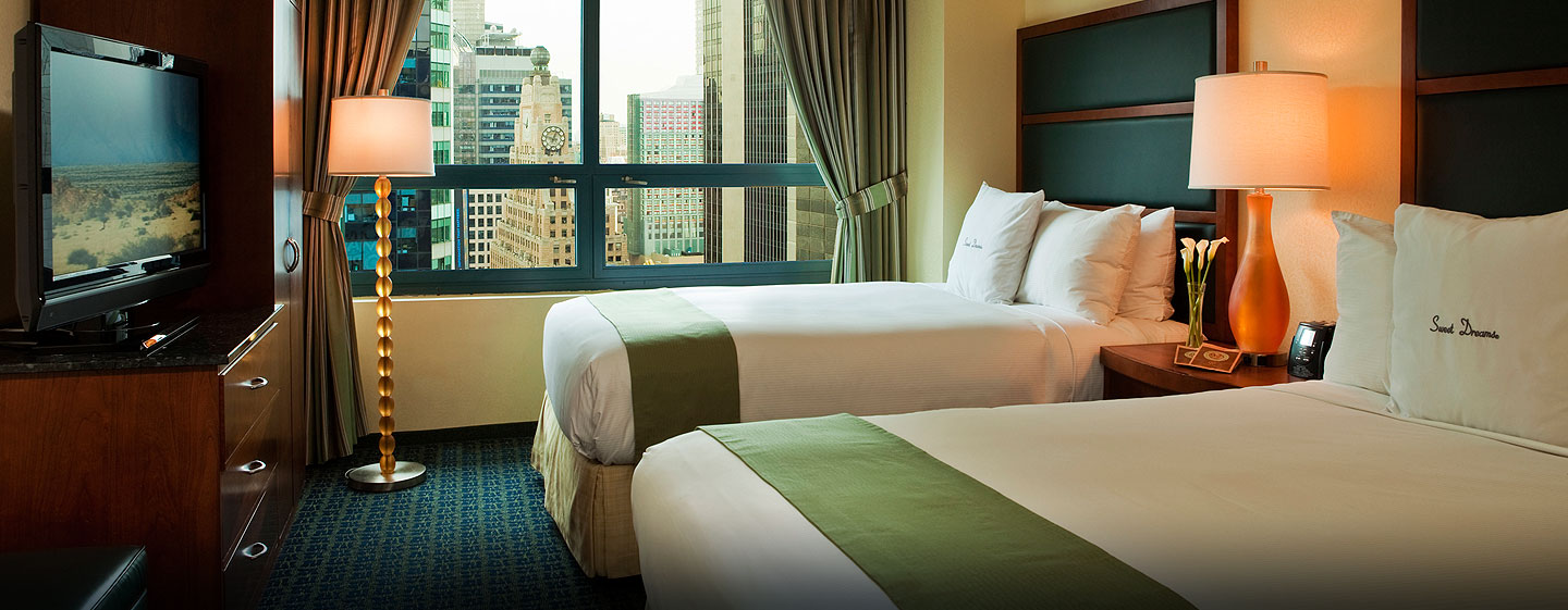 Hotel DoubleTree Suites by Hilton New York City - Times Square - Nueva York, NY - Habitación doble