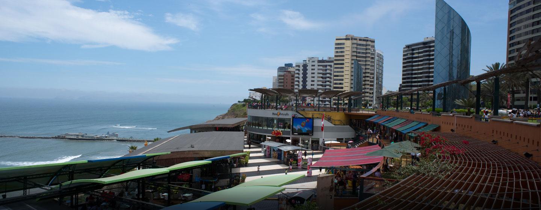 Hilton Lima Miraflores, Perú - Área de entretenimiento Larcomar