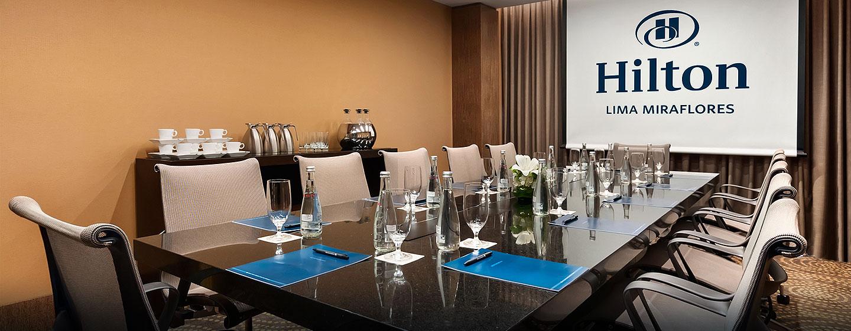 Hilton Lima Miraflores, Perú - Sala de reuniones