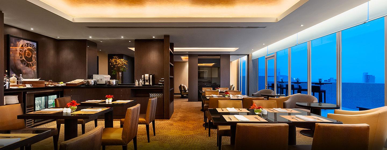 Hilton Lima Miraflores, Perú - Desayuno en la sala ejecutiva