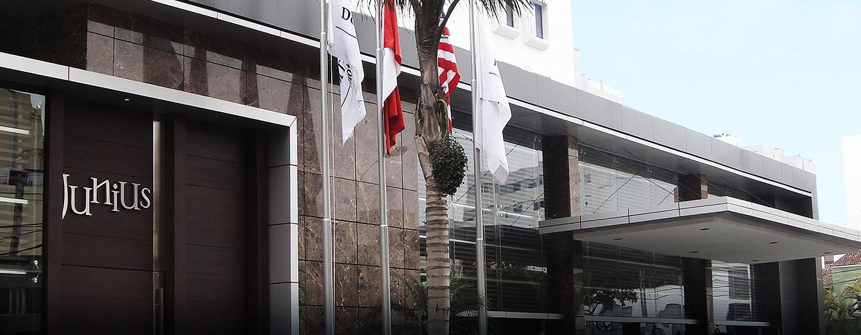 Hotel El Pardo DoubleTree by Hilton, Lima, Perú - Entrada