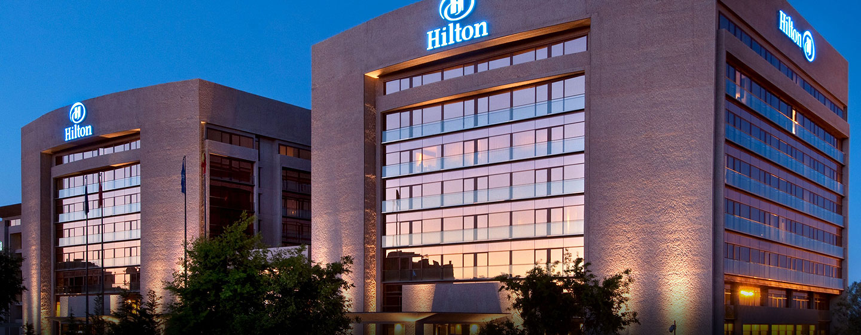 Hilton Madrid Airport, España - Fachada del hotel