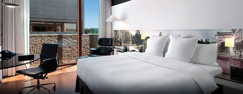 Hilton Madrid Airport, España - Habitación con cama King