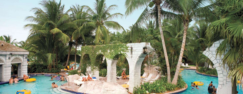 Hilton Rose Hall Resort & Spa, Jamaica - Parque acuático Sugar Mill Falls (en el hotel)
